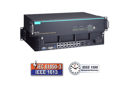 IEC 61850-3 x86 2U 14-port GbE rackmount computers