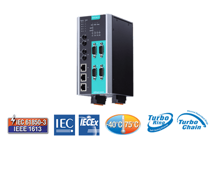 IEC 61850 Combo Switch/Serial Device Server