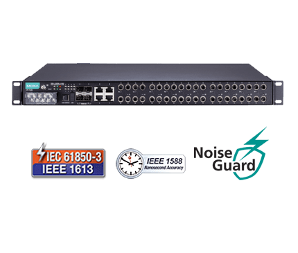 IEC 61850-90-4 and IEEE 1613 class 2 managed Ethernet switches